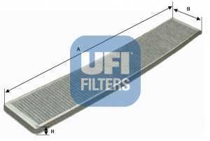 Фильтр салонный UFI 54.121.00 - изображение