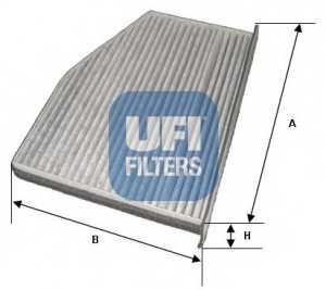 Фильтр салонный UFI 54.124.00 - изображение