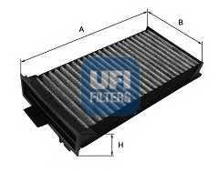 Фильтр салонный UFI 54.125.00 - изображение