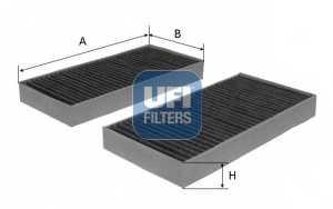 Фильтр салонный UFI 54.127.00 - изображение