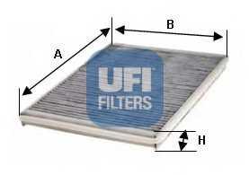 Фильтр салонный UFI 54.128.00 - изображение