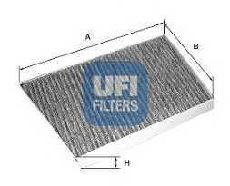 Фильтр салонный UFI 54.131.00 - изображение