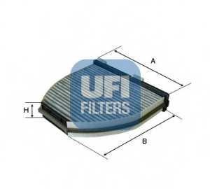 Фильтр салонный UFI 54.163.00 - изображение