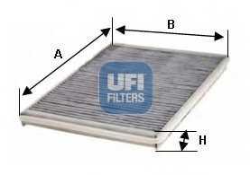 Фильтр салонный UFI 54.218.00 - изображение