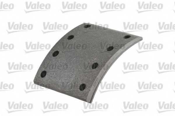 Комплект тормозных башмаков барабанного тормоза VALEO 219283 - изображение