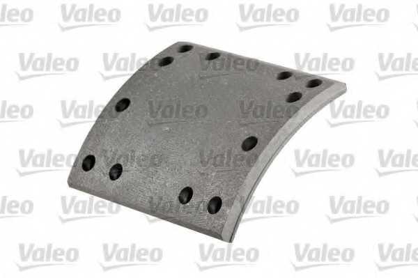 Комплект тормозных башмаков барабанного тормоза <b>VALEO 219369</b> - изображение