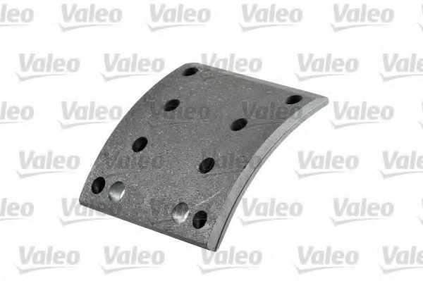 Комплект тормозных башмаков барабанного тормоза <b>VALEO 219487</b> - изображение