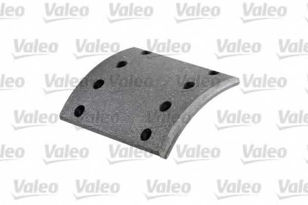 Комплект тормозных башмаков барабанного тормоза VALEO 219574 - изображение
