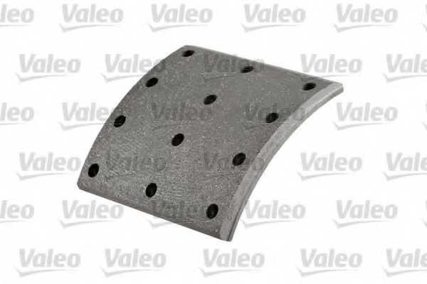 Комплект тормозных башмаков барабанного тормоза <b>VALEO 219939</b> - изображение