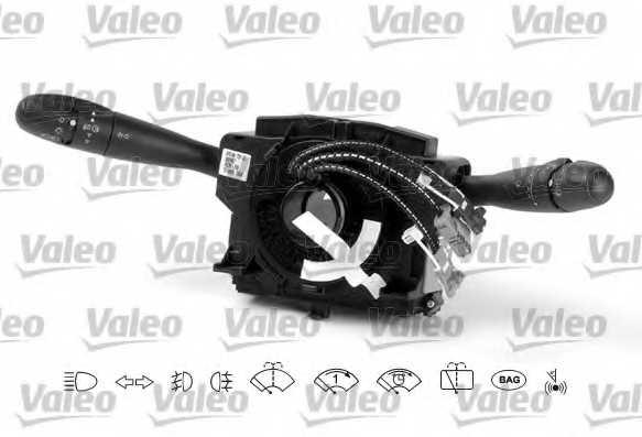 Выключатель на колонке рулевого управления VALEO 251487 - изображение