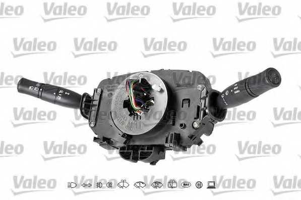 Выключатель на колонке рулевого управления VALEO 251640 - изображение