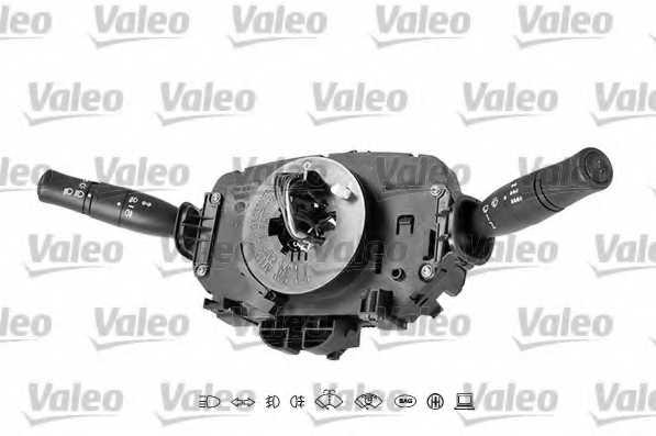 Выключатель на колонке рулевого управления VALEO 251641 - изображение