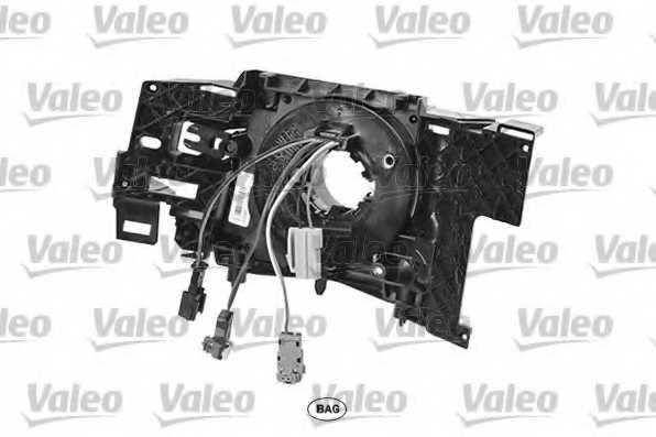 Витая пружина, подушка безопасности VALEO 251642 - изображение