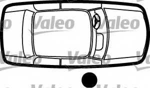 Ручка двери VALEO 256913 - изображение 1