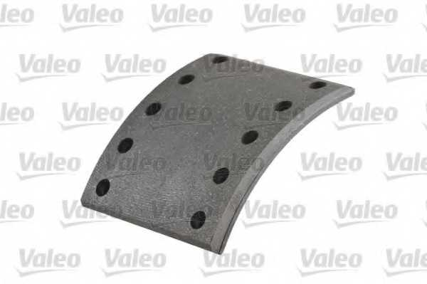 Комплект тормозных башмаков барабанного тормоза VALEO 319032 - изображение