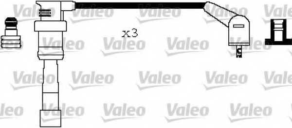 Комплект проводов зажигания VALEO 346197 - изображение