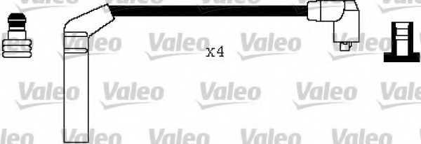 Комплект проводов зажигания VALEO 346354 - изображение