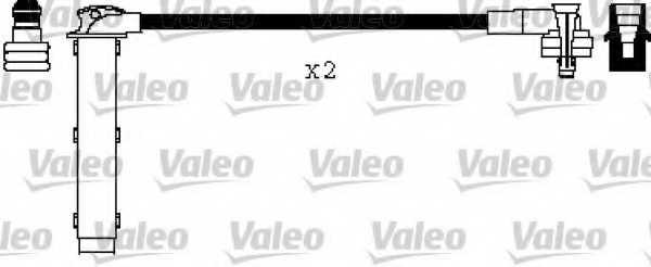 Комплект проводов зажигания VALEO 346552 - изображение