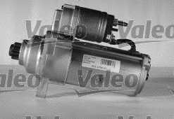 Стартер 2кВт для VW TRANSPORTER(70XC, 7DB, 7DK, 7DW,70XA,70XB,70XD) <b>VALEO 438077</b> - изображение 2