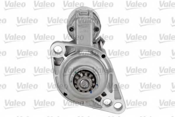 Стартер 2кВт для AUDI A1, A3 / SKODA FABIA, RAPID, ROOMSTER, SUPERB, YETI / VW BEETLE, CADDY, GOLF, JETTA, MULTIVAN, PASSAT, POLO, TOURAN, TRANSPORTER <b>VALEO 438225</b> - изображение
