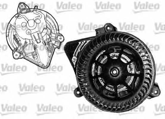 Вентилятор салона VALEO 650440D0 / 698045 - изображение