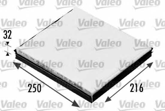 Фильтр салонный VALEO 698685 - изображение