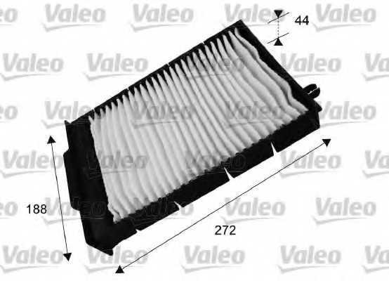 Фильтр салонный VALEO 698730 - изображение