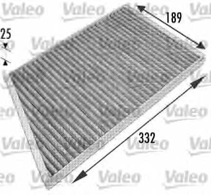 Фильтр салонный VALEO 698743 - изображение