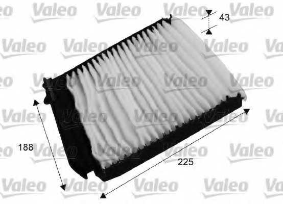 Фильтр салонный VALEO 698753 - изображение