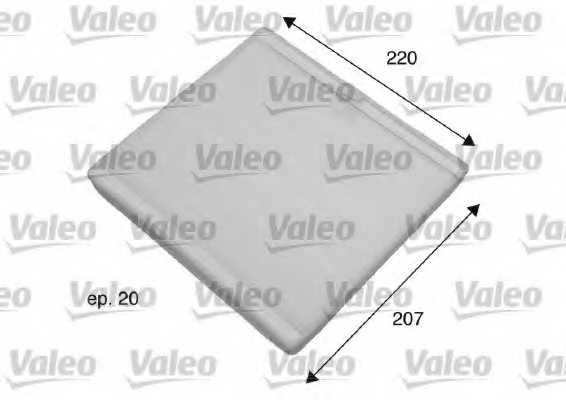 Фильтр салонный VALEO 698769 - изображение