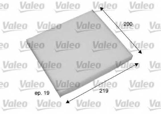 Фильтр салонный VALEO 698795 - изображение