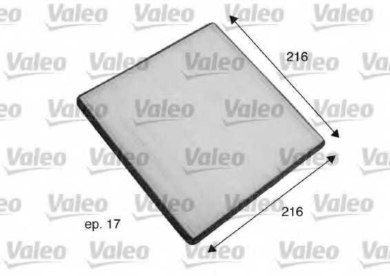 Фильтр салонный VALEO 698796 - изображение