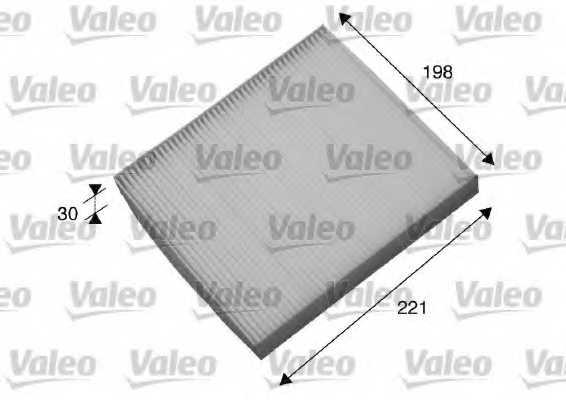 Фильтр салонный VALEO 698869 - изображение