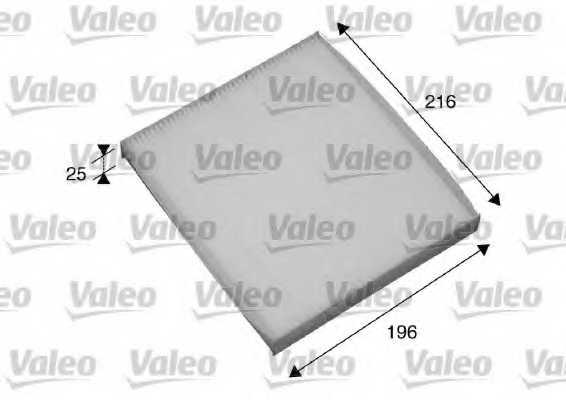 Фильтр салонный VALEO 698870 - изображение