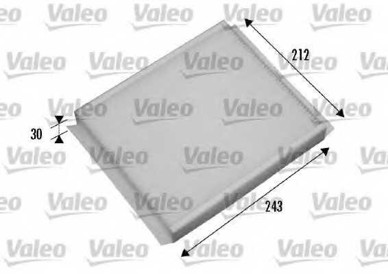 Фильтр салонный VALEO 698876 - изображение