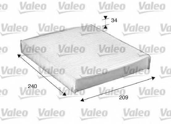 Фильтр салонный VALEO 698882 - изображение