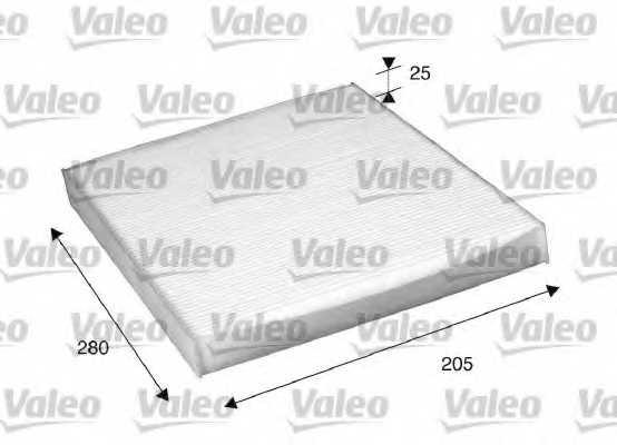 Фильтр салонный VALEO 698885 - изображение