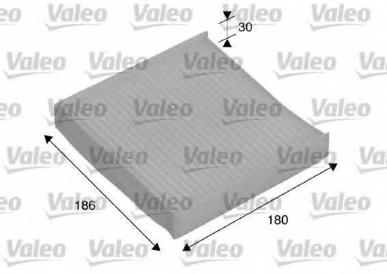 Фильтр салонный VALEO 698886 - изображение