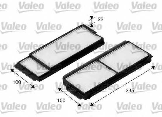 Фильтр салонный VALEO 698892 - изображение