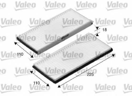 Фильтр салонный VALEO 698894 - изображение