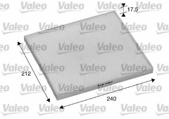 Фильтр салонный VALEO 698895 - изображение