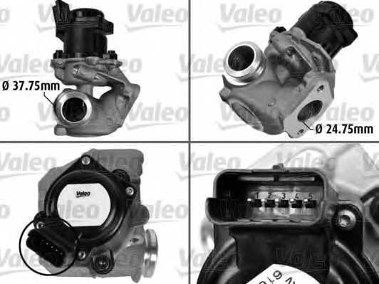 Клапан возврата ОГ VALEO 700413 - изображение