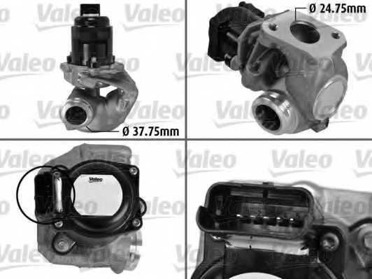 Клапан возврата ОГ VALEO 700414 - изображение