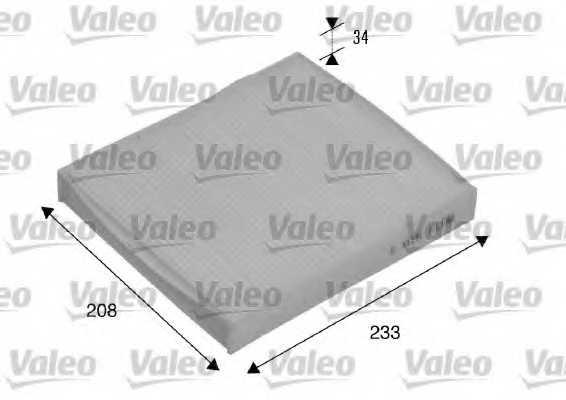Фильтр салонный VALEO 715510 - изображение