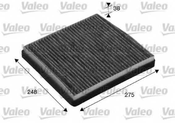 Фильтр салонный VALEO 715512 - изображение