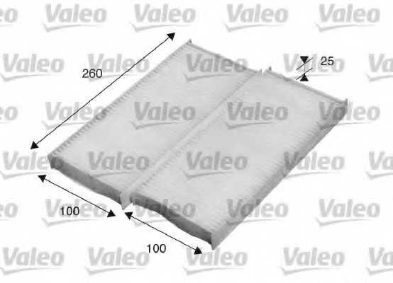 Фильтр салонный VALEO 715520 - изображение