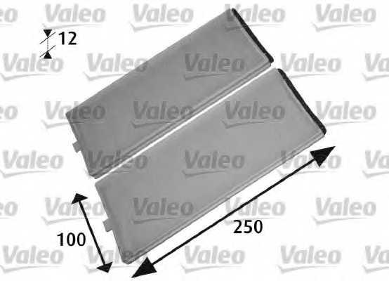 Фильтр салонный VALEO 715525 - изображение