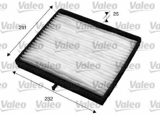 Фильтр салонный VALEO 715526 - изображение