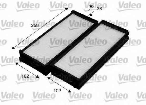 Фильтр салонный VALEO 715529 - изображение