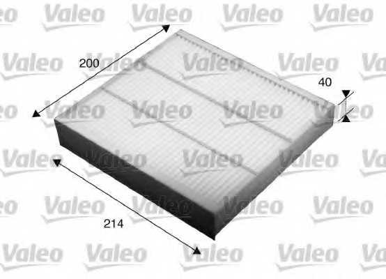 Фильтр салонный VALEO 715532 - изображение